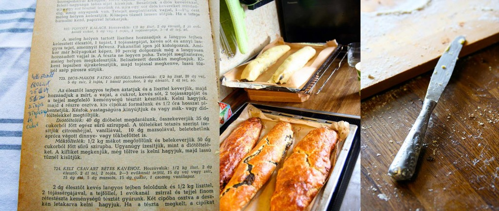 Das ursprüngliche Rezept für mákos beigli