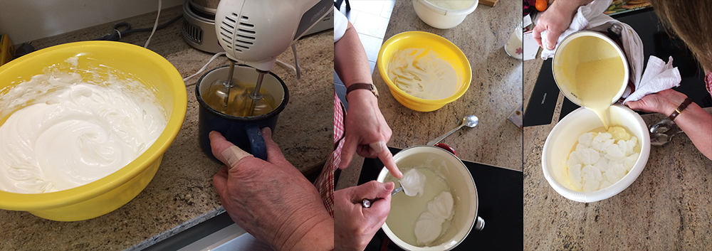 Zubereitung Madártej
